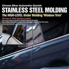 Stainless Steel Chrome Window Under Trim Molding 6Pcs For KIA 2015-2017 Sedona