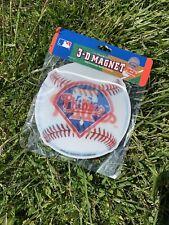 Brax - 2 New Philadelphia Phillies 3-D Magnets - Ultradepth - Locker Sized