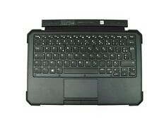 Genuine Dell Latitude 12 Rugged 7202 IP-65 RGB Backlit FRENCH FRANCAIS Keyboard