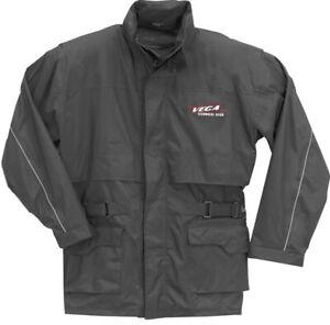 Vega Motorcycle Rain Jacket Black Men's