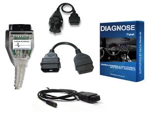 Diagnose für BMW von 1995-2021, komp. INPA,NCSEXPERT,Rheingold + Software / APPS