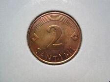 Letonia, Latvijas 2 santimi 2000 (552)