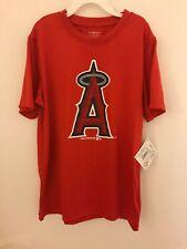 New Authentic MLB Los Angeles Angels of Anaheim Boy's Medium 8/10 T-Shirt
