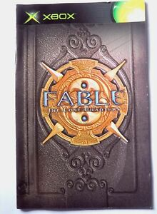 76930 Instruction Booklet - Fable The Lost Chapters - Microsoft Xbox (2005)