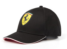 FERRARI Scuderia Formula 1 Black Authentic Classic Hat / Cap OSFA NEW