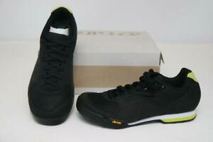 New Giro Petra VR Women MTB Bike Shoes 36 5 Black Lime 2-Bolt SPD Cycling Vibram