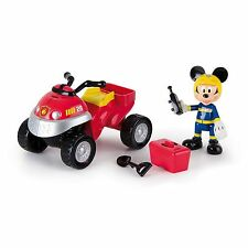Disney Mickey Mouse Club house Fire Quad Bike Car Boys Ages 3+ New Toy Race Fun