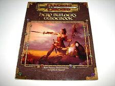 2000 D&D Dungeons & Dragons Hero Builder's Guidebook