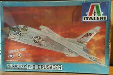 Italeri Plastic Model Kit 1/72 Scale F-8 E Crusader #1230 Sealed!