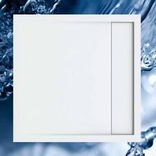 Duschbecken 900x900 mm mit integrierter Duschrinne / Duschwanne 90x90 cm mit ein