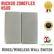 LOT OF 2 Ruckus H500 Multiservice 802.11ac Dual-Band Wired/Wireless Switch PoE