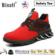 New listing Men's Hiker Steel Toe S3 Cushioned Work Safety Boots Sneaker Casual Shoes Hiking