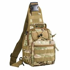 Hunting Chest Sling Pack Shoulder Bag Camouflage Military Tactical Backpack NEW