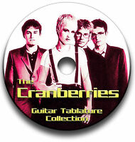 THE CRANBERRIES ROCK GUITAR TAB TABLATURE SONG BOOK ANTHOLOGY SOFTWARE CD