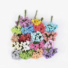 Handcraft Artificial Flowers Stamen Sugar Wedding Party Decoration Garland Craft
