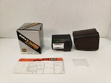 Konica X-24 Auto Electronic Flash 705-318 Shoe Mount With Box Tested Working