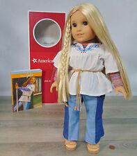 "NEW American Girl JULIE 18"" DOLL & MEET OUTFIT Pre BeForever Blonde Hair BOX"