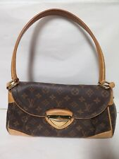 .Auth LOUIS VUITTON MONOGRAM BEVERLY GM M40120