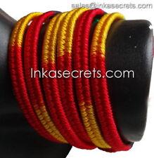 500 Peruvian Friendship Bracelets, Double Knot