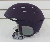 Smith Sequel Women's Ski Snowboard Helmet Adult Small 51-55 cm Black Cherry New