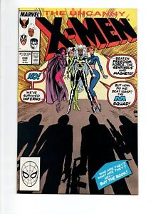 Uncanny X-MEN #244 comic from 1989..NM..1st JUBILEE..$50.00 VALUE....ONLY $9.95!