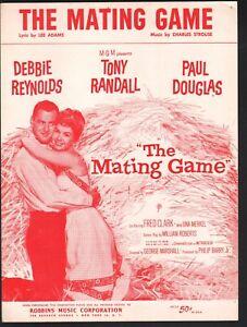 Mating Game 1959 Debbie Reynolds Tony Randall