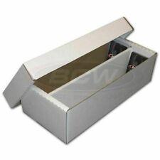 Bcw Shoe Storage Box 2 Row Cardboard Lid Psa Beckett & Other Trading