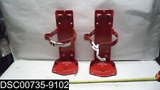 New listing Scratched: Qty=1 Pair of 2: 30937 Ansul Sentry Red 20lb Vehicle Bracket