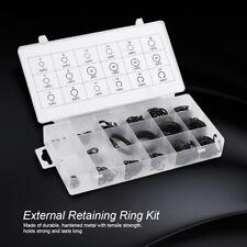 300X Metal 2-32mm E-Clip Snap Circlip External Retaining Ring Assortment Set HG