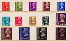 Hong Kong 1973 Queen Elizabeth II Definitive Stamp Set MNH