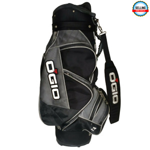 OGIO - 2005 Boss Hogg - Woode Club Management Golf Cart Bag- Black Gray Pls Read