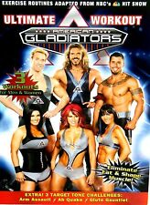 American Gladiators Fitness Workout,NEW DVD Lose Weight Exercise Workout Cardio