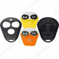 Replacement for Aftermarket System Viper Dei Remote Fob Shell Case Remote Start