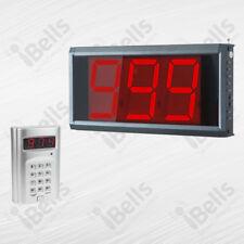 Personenrufsystem: Wartenummer Anzeigetafel ZJ-39 und Rufsender - Smart-Serie