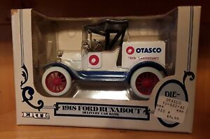 1918 Ford Runabout Delivery Car Bank NEW Die Cast OTASCO 70th Anniversary NRFB