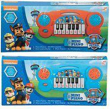 Paw Patrol Niños Mini 19 cm Piano Electrónico Teclado Instrumento Musical Juguete
