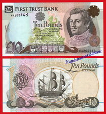 NORTHERN IRELAND IRLANDA FIRST TRUST 10 Pounds libras 2012 Pick 136b SC / UNC