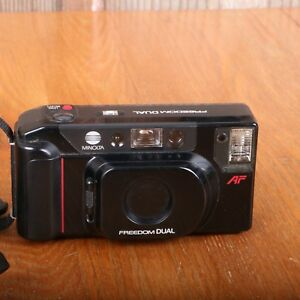 Minolta Freedom Dual Point and Shoot Film Camera UNTESTED PARTS ONLY