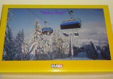 Brawa 6346 H0 Seilbahn Sesselbahn (6er-Sessel) inklusive Gebäudebausatz   #63500