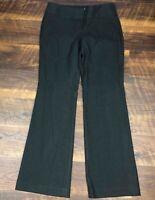 Express EDITOR Black Wide Leg size 4 Trousers Career Women's Dress Pants