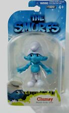 THE SMURFS Clumsy Movie Grab 'Ems Jakks Pacific 2011 MOC Fantastic Condition