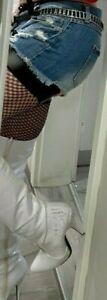 Sehr oft getragene Overknee-Stiefel Gr. 41-42 mega sexy