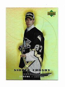 2005-06 MCDONALDS SIDNEY CROSBY ROOKIE CARD # 51