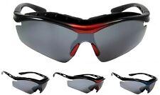 NWT Wrap Sport Goggles Sunglasses Jumper Cycling Biker Padded Anti Fog Frame