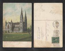 1907 ST PAULS CATHEDRAL PITTSBURG PA POSTCARD
