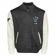 Unisex Harry Potter Ravenclaw Crest Aplicación Bordado Cremallera Universitaria