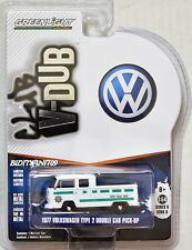 Greenlight CLUB v-dub Vert Machine 1977 VOLKSWAGEN TYPE 2 Double TAXI PICK-UP w