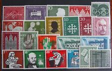 Germany Complete Year 1956 Stamp Set Mint Never Hinged MNH German Stamps