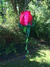 Spinning Red Rose Wind Sock 36""