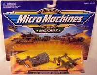 Military Micro Machines 1999 21 WORLD WAR II MOC C-47D, Elephant, P-38 Lightning